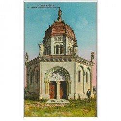 carte postale ancienne 04 FORCALQUIER. Chapelle N.D de Provence