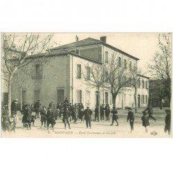 carte postale ancienne 04 MANOSQUE. Ecole Communale de Garçons