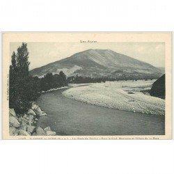 carte postale ancienne 04 SAINT-ANDRE LES ALPES. Verdon, Village et Montagne de la Mure