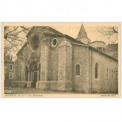 carte postale ancienne 04 SISTERON. La Cathédrale