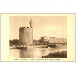 carte postale ancienne 30 AIGUES-MORTES. Tour de Constance