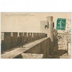 carte postale ancienne 30 AIGUES-MORTES. Tour de la Marine 1910