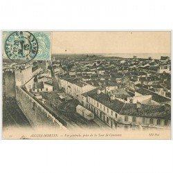 carte postale ancienne 30 AIGUES-MORTES. Vue 1905