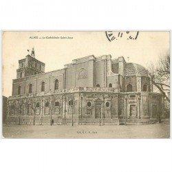 carte postale ancienne 30 ALAIS ou ALES. Cathédrale Saint-Jean 1911