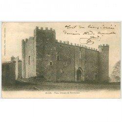 carte postale ancienne 30 ALAIS ou ALES. Château de Montmoirac 1903