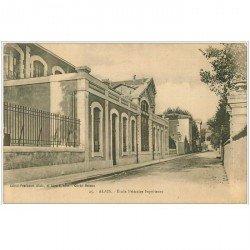 carte postale ancienne 30 ALAIS ou ALES. Ecole Primaire