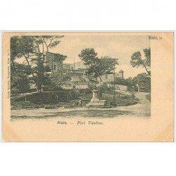 carte postale ancienne 30 ALAIS ou ALES. Fort Vauban 1902