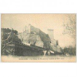 carte postale ancienne 30 BEAUCAIRE. Château de Montmorency bis