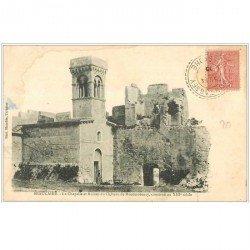 carte postale ancienne 30 BEAUCAIRE. Château de Montmorency Chapelle 1905