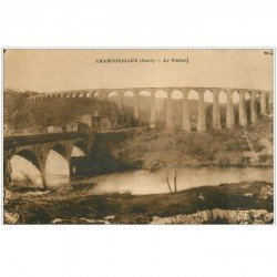 carte postale ancienne 30 CHAMBORIGAUD. Viaduc