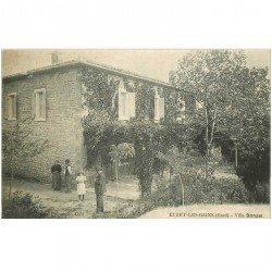 carte postale ancienne 30 EUZET LES BAINS. Villa Donzel