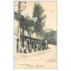 carte postale ancienne 30 GENOLHAC. Hôtel du Chalet 1923
