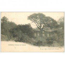 carte postale ancienne 30 LASALLE. Château de Cornely 1907