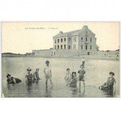 carte postale ancienne 30 LE GRAU DU ROI. La Baignade 1917