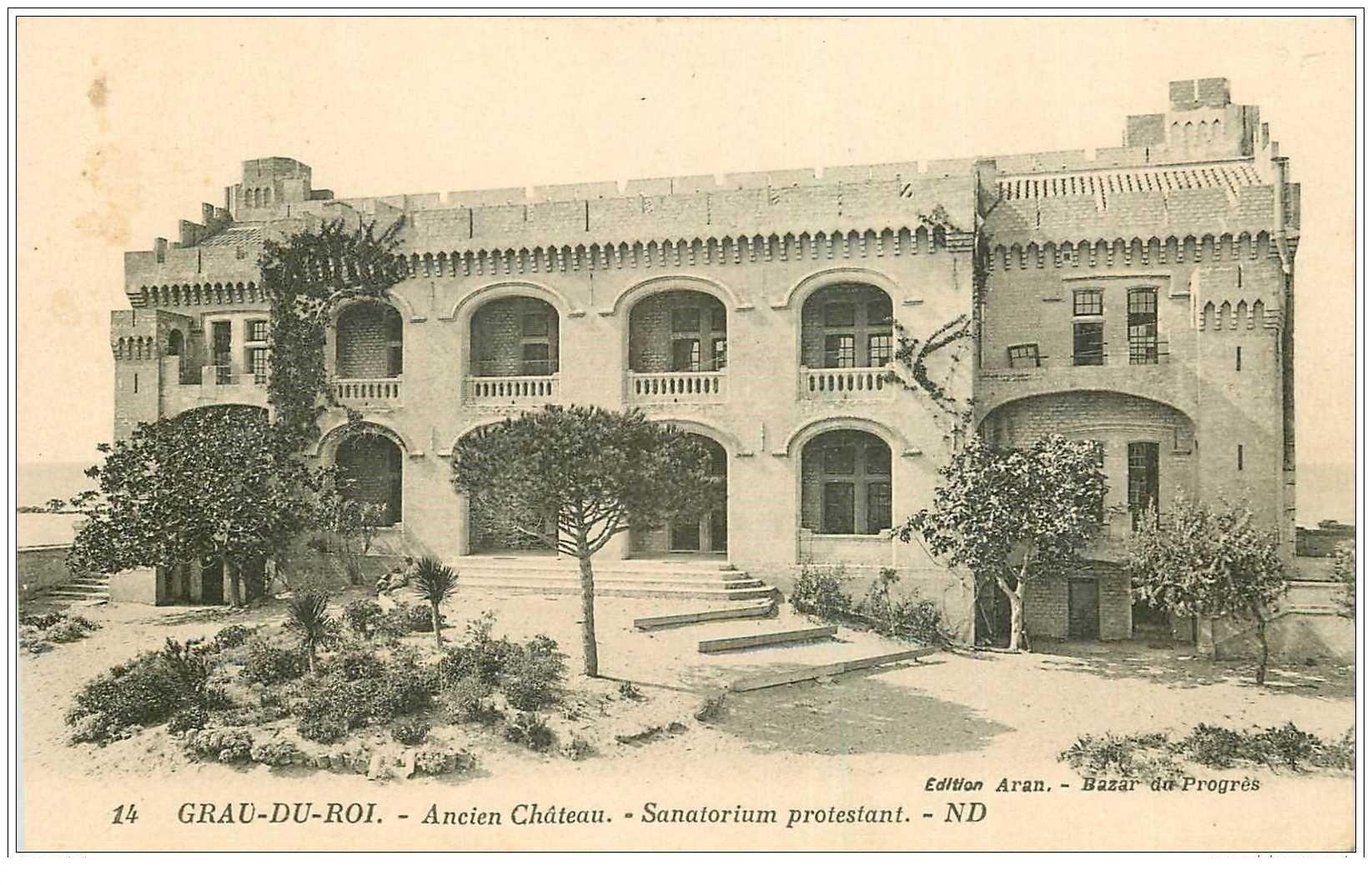 carte postale ancienne 30 LE GRAU DU ROI. Sanatorium Protestant