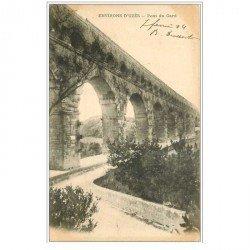 carte postale ancienne 30 LE PONT DU GARD 1904