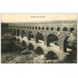 carte postale ancienne 30 LE PONT DU GARD.