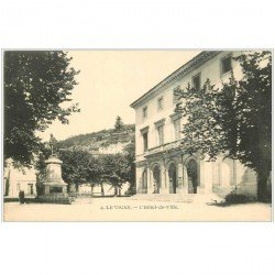 carte postale ancienne 30 LE VIGAN. Hôtel de Ville