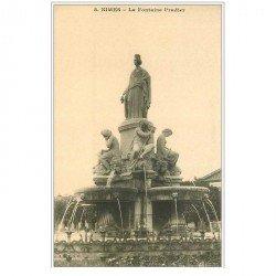 carte postale ancienne 30 NIMES. Fontaine Pradier 8