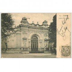 carte postale ancienne 30 NIMES. Galerie Jules Salles 1903