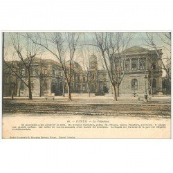 carte postale ancienne 30 NIMES. La Préfecture Avenue de la Gare
