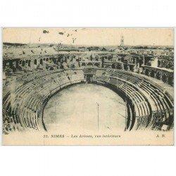 carte postale ancienne 30 NIMES. Les Arènes 1915
