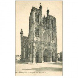 carte postale ancienne 80 ABBEVILLE. Eglise Saint-Vulfran LL8