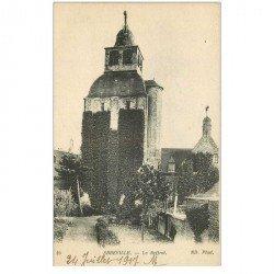 carte postale ancienne 80 ABBEVILLE. Le Beffroi