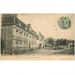carte postale ancienne 80 ABBEVILLE. Le Collège de Jeunes Filles 1905