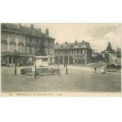 carte postale ancienne 80 ABBEVILLE. Place Saint-Pierre 1918
