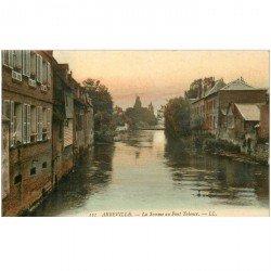 carte postale ancienne 80 ABBEVILLE. Pont de Talence la Somme
