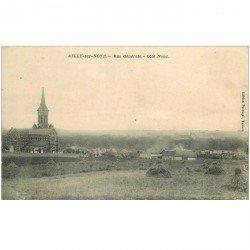 carte postale ancienne 80 AILLY-SUR-NOYE. Vue générale