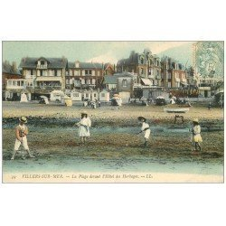 carte postale ancienne 14 VILLERS-SUR-MER. Etablissement de Bains 1907