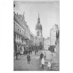 carte postale ancienne 80 AMIENS. Beffroi Rue des Chaudronniers