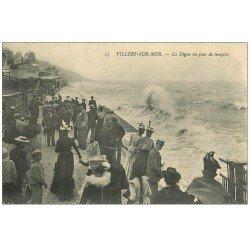 carte postale ancienne 14 VILLERS-SUR-MER. Jeux de Plage 1904