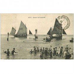carte postale ancienne 80 AULT. Bateaux de Promenade 1924