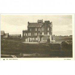 carte postale ancienne 80 AULT. Le Château