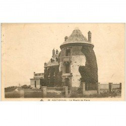 carte postale ancienne 80 AULT. Le Moulin de Pierre 1936