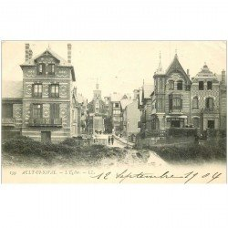 carte postale ancienne 80 AULT. L'Eglise 1904