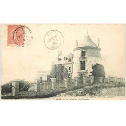 carte postale ancienne 80 AULT. Moulin de Pierre 1903
