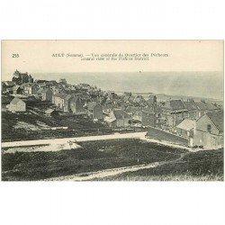 carte postale ancienne 80 AULT. Vue du Quartier des Pêcheurs