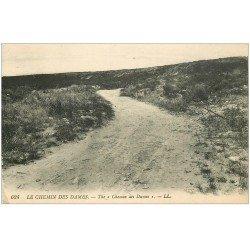 carte postale ancienne 02 LE CHEMIN DES DAMES.