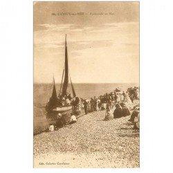 carte postale ancienne 80 CAYEUX-SUR-MER. Bateau pour Promenade en Mer