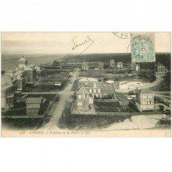 carte postale ancienne 80 CAYEUX-SUR-MER. Brighton vu du Phare vers 1906