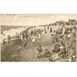 carte postale ancienne 80 CAYEUX-SUR-MER. La Plage 1931