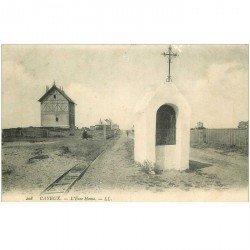 carte postale ancienne 80 CAYEUX-SUR-MER. L'Ecce Homo. Petit manque bord supérieur vers 1904