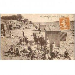 carte postale ancienne 80 LE CROTOY. Bains de Soleil 1929
