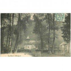 carte postale ancienne 80 LE MONT D'ARGUEL 1906 avec Fermière