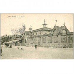 carte postale ancienne 80 MERS-LES-BAINS. Le Casino 1907