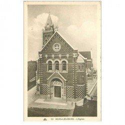 carte postale ancienne 80 MERS-LES-BAINS. L'Eglise CAP 131